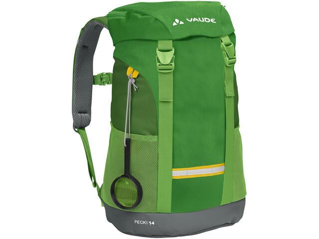VAUDE Pecki 14 Backpack Barn parrot green